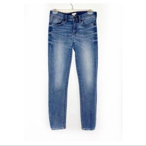 J.CREW Stretch Cropped Light Wash Jeans 26/28